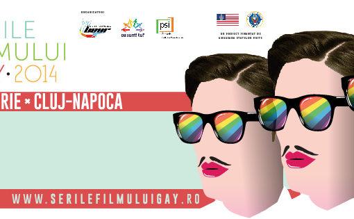 Poster Festivalul Internațional de Film Queer Serile Filmului Gay 2014